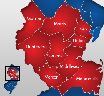 warren map areas we serve